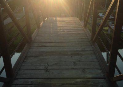 Sunrise on Bridge