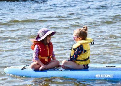 Girl time on Beech Lake