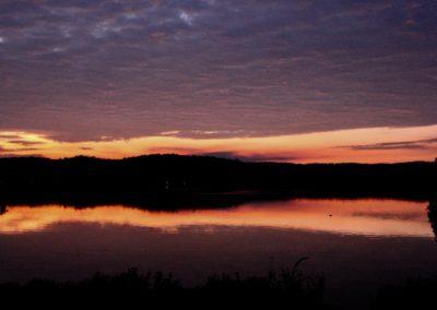 Maple Lake Sunset