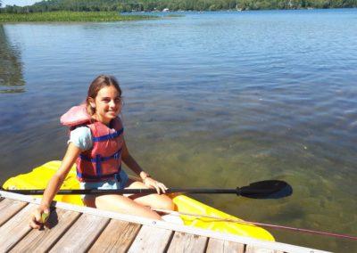 Long Boarding on Beech Lake