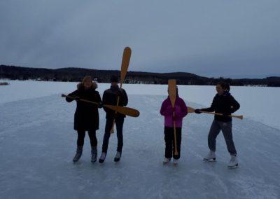 Winter Paddles